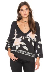 Wildfox Couture Flora Sweater Black