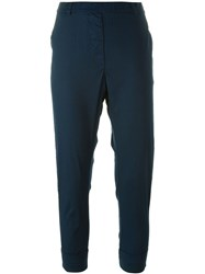 Kristensen Du Nord Baggy Cropped Trousers Blue
