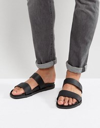 Call It Spring Ricoberht Double Strap Sandals In Black