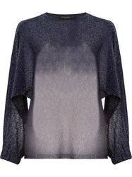 Roberto Collina Loose Fit Jumper Blue