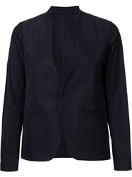 H Beauty And Youth. Collarless Blazer Black