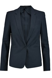 Joseph Will Cotton Blend Pique Blazer Blue