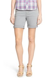 Women's Jag Jeans 'Jordan' Pull On Denim Shorts Fog Grey