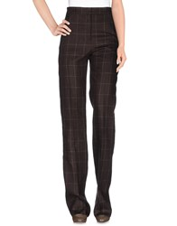 Max Mara Trousers Casual Trousers Women Dark Brown