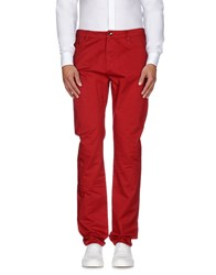 Geox Trousers Casual Trousers Men Red