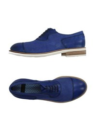 Raparo Footwear Lace Up Shoes Men Blue