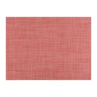Chilewich Mini Basketweave Rectangle Placemat Guava