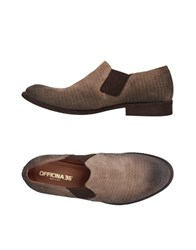 Officina 36 Loafers Dove Grey
