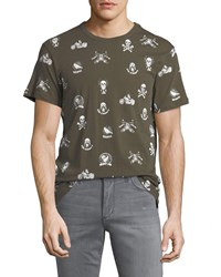 Chaser Mixed Moto Graphic Tee Canteen