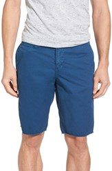Original Paperbacks Men's 'St. Barts' Raw Edge Shorts Ocean