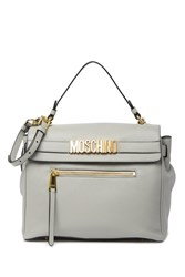 Moschino Satchel Grey