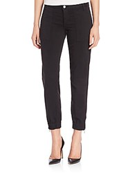 Joe's Jeans Edita Flight Zip Pants Leaf