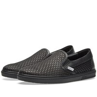 Jimmy Choo Grove Stars Slip On Black