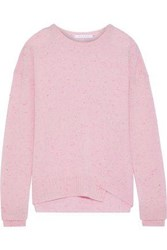Duffy Woman Donegal Cashmere Sweater Baby Pink