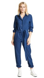 Baldwin Denim Rosie Jumpsuit Navy