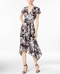 Inc International Concepts Printed Wrap Dress Only At Macy's Mystic Garden