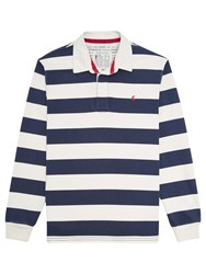 Joules Onside Rugby Top French Navy Stripe