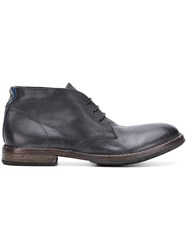 Moma Lace Up Ankle Boots Grey