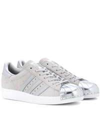 Adidas Superstar Leather Sneakers Grey