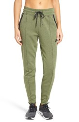 Nike Women's Tech Fleece Sweatpants Palm Green Heather Black