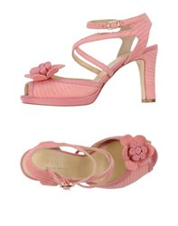 Twin Set Simona Barbieri Footwear Sandals Women Pink