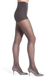 Dkny Women's Light Opaque Control Top Tights Flannel Grey