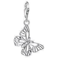 Thomas Sabo Charm Club Cut Out Butterfly Charm Silver
