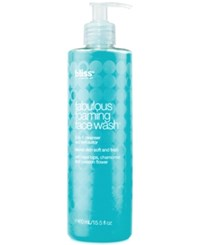 Bliss Fabulous Foaming Face Wash 16 Oz No Color