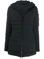 Peuterey Hooded Down Coat Black