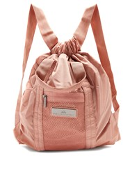 Adidas By Stella Mccartney Drawstring Tote Backpack Light Pink