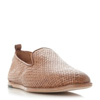 Hudson Ipanema Woven Slip On Sandals Tan