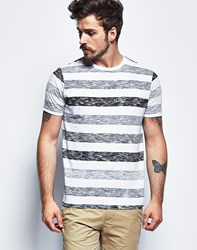 Brave Soul Bravesoul Short Sleeve Slup Striped T Shirt Multi