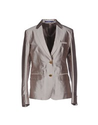 M.Grifoni Denim Suits And Jackets Blazers Women Lead