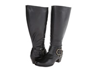 Walking Cradles Clarity Extra Wide Shaft Black Soft Antique Women's Dress Boots