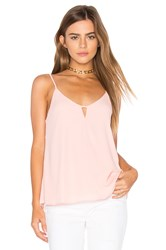 Eight Sixty Keyhole Tank Blush
