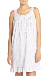 Women's Eileen West Print Cotton Chemise