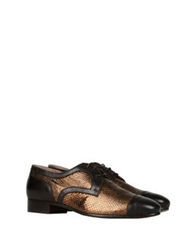 George J. Love Lace Up Shoes Dark Brown