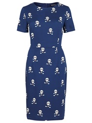 Sugarhill Boutique Air Balloon Dress Navy