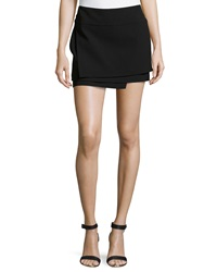 Helmut Lang Palm Mini Skirt Black