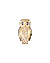 Sydney Evan Owl Diamond Single Stud Earring