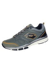 Lotto Andromeda Iv Soft Cushioned Running Shoes Milita Black Green