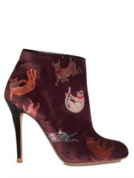Camilla Elphick 105Mm Raining Cats And Dogs Velvet Boots