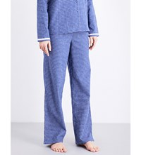 Calvin Klein Check Pattern Cotton Flannel Pyjama Bottoms Um7 Illuminated Check