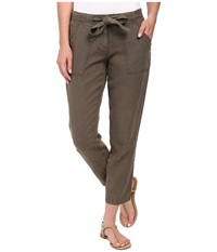 Sanctuary New Tapered Sash Pants Brown Olive Women's Casual Pants
