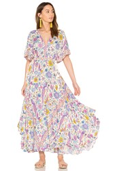 Spell And The Gypsy Collective Half Moon Gown Purple