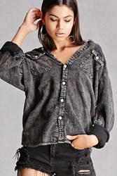Forever 21 Worn Finish Flannel Shirt Charcoal Onerror Javascript Fnremovedom 'Colorid