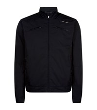 Porsche Design Driving Race Water Repellent Jacket Male Black