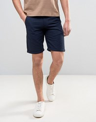 Solid Chino Shorts 1991 Navy