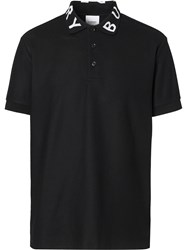 Burberry Logo Intarsia Polo Shirt 60