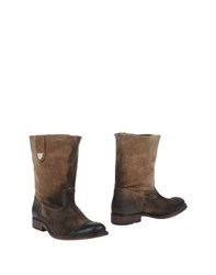 Htc Footwear Ankle Boots Women Dark Brown